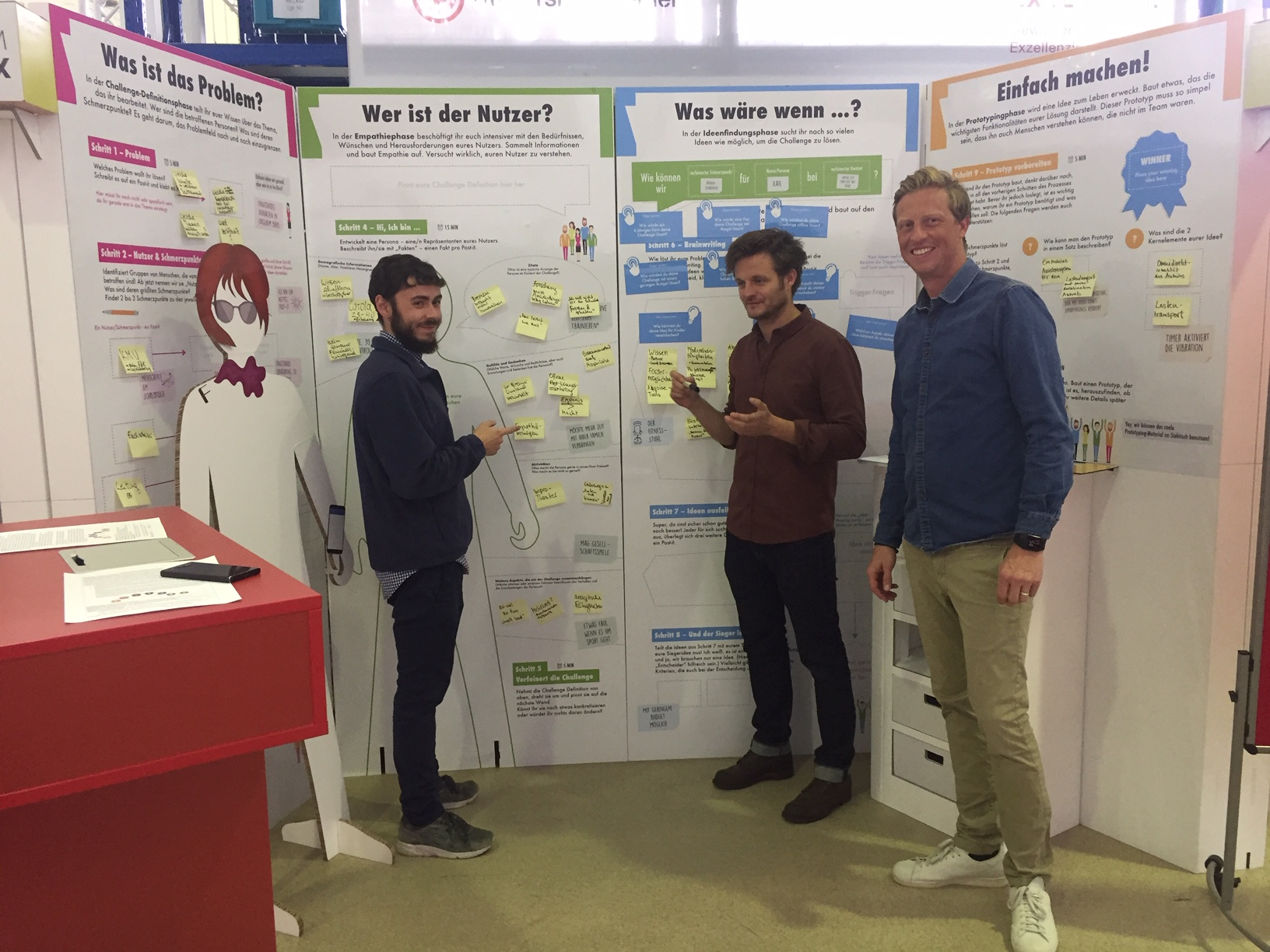 BreLogIK-Projektteam erprobt Design Thinking Prozess