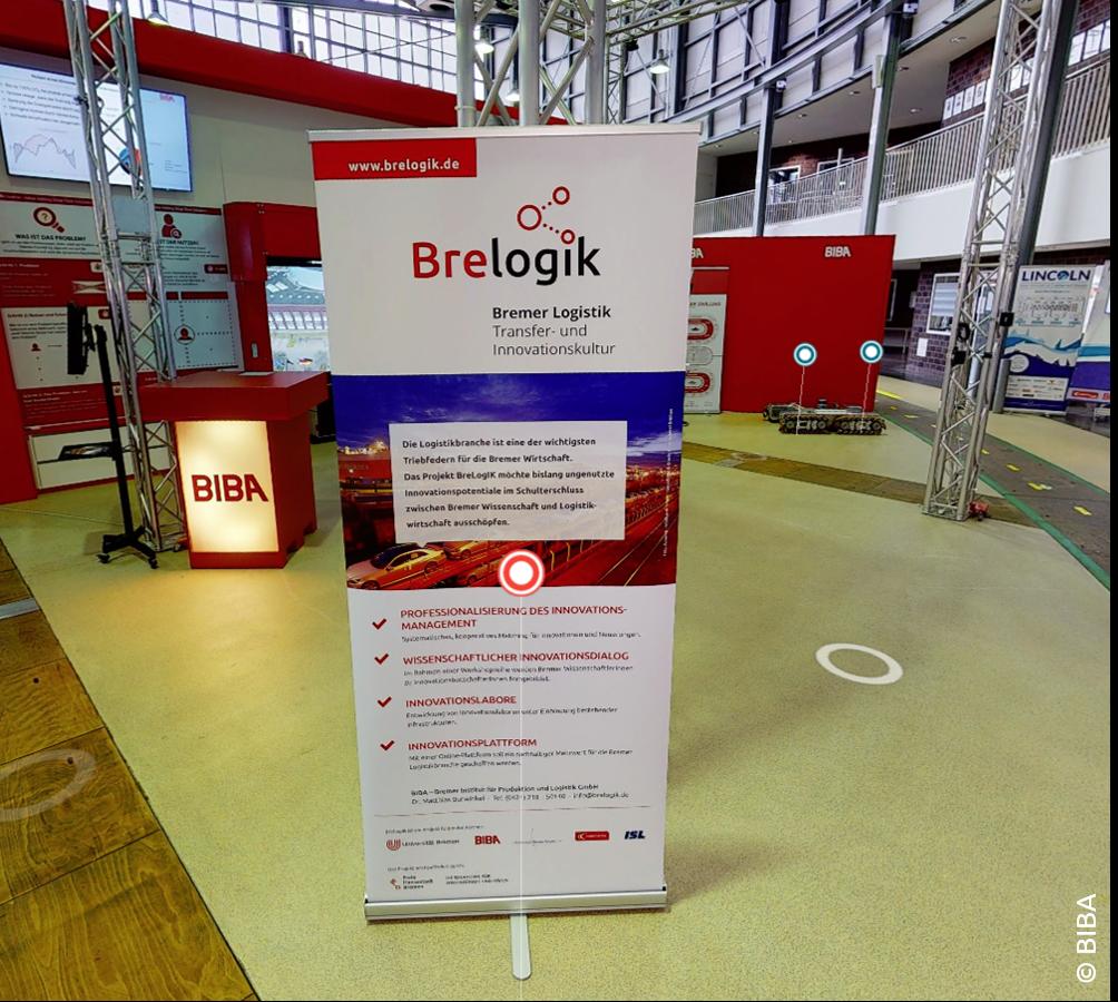 Innovationslabore in Bremen: BreLogIK ist Teil der BIBA Forschungshalle